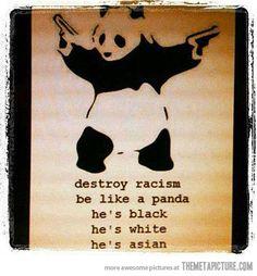 Like a Panda…