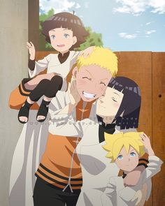 Find images and videos about love, anime and purple on We Heart It - the app to get lost in what you love. Naruhina, Anime Naruto, Sarada E Boruto, Naruto Cute, Naruto Sasuke Sakura, Naruto Shippuden Sasuke, Uzumaki Family, Naruto Family, Naruto Couples