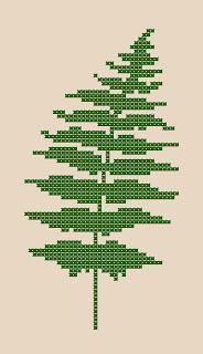 Cross Stitch Happy: Fern Frond Chart