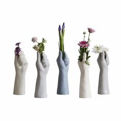 Browse Blue Grey Hand Single Stem Flower Vase and more from Belgin Bozsahin at Wolf & Badger - the leading destination for independent designer fashion, jewellery and homewares. Hands Holding Flowers, Sad Girl, Flower Vases, Pretty Flowers, Decorative Bells, Blue Grey, Glass Art, Sculptures, It Is Finished