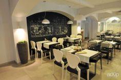 """""""Фиеста"""" г.Запорожье: интерьер, современный, модернизм, ресторан, кафе, бар, барная стойка, 100 - 200 м2 #interiordesign #modern #restaurant #cafeandbar #barcounter #100_200m2 arXip.com"""
