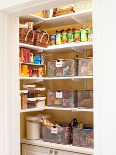 Daily Recipe Drawers for meal planning = <3