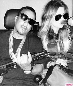 Khloe Kardashian and French Montana Post Shocking Gun Pic on Instagram