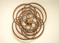 Evolution kinetic sculpture by David C. Roy