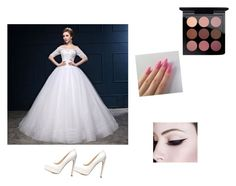 """""""Widdeng"""" by michy09 ❤ liked on Polyvore featuring Charlotte Russe and MAC Cosmetics"""