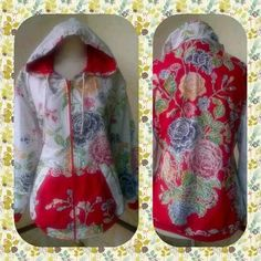 Jaket Batik  Batik Encim Pekalongan  Semua Ukuran ( Max LD 110 ) Di pesan