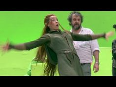 On the Set of THE HOBBIT 3 [Making-Of Pt # 2] - YouTube