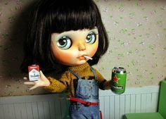 thePJdoll1/6 Doll's items Cigarettes Heineken A roll por ThePJdoll