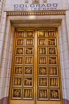 Doorway, Colorado Business Bank, Denver, Colorado. IMG_8461 LR Edit by StevenC_in_NYC, via Flickr