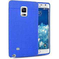 EGC Premium Fitted TPU Samsung Galaxy Note Edge Case - Blue
