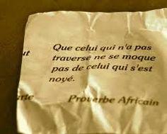 Résultats de recherche d'images pour «proverbe africain»