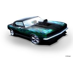 Chip Foose Drawings | Chip Foose Drawings Camaro http://www.nfsunlimited.net/showroom/entry ...
