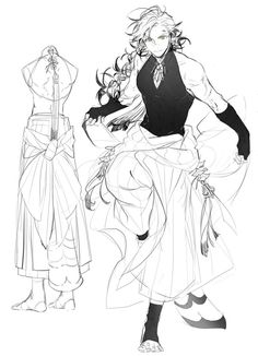 Fantasy Character Design, Character Design Inspiration, Character Concept, Character Art, Concept Art, Character Outfits, Art Sketches, Art Drawings, Drawing Reference Poses