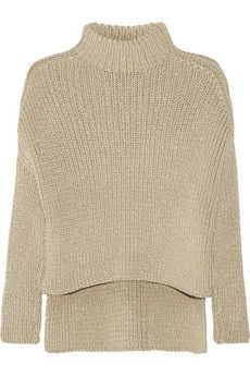 Victor Alfaro Ribbed cotton-blend sweater | NET-A-PORTER