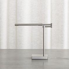 Crate & Barrel Sterling Desk Lamp