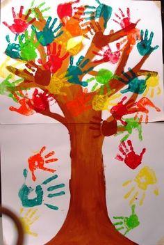 Sages - Du monde végétal - Arts And Crafts Fall Arts And Crafts, Autumn Crafts, Fall Crafts For Kids, Autumn Art, Art For Kids, Fall Art For Toddlers, Winter Art, Toddler Art, Toddler Crafts