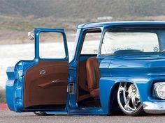 1963 Chevy C10 Passenger Suicide Door