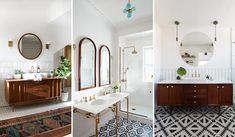 New house bathroom designs 2 vintage wins for washroom decor tiny house small bathroom ideas Diy Bathroom Remodel, Diy Bathroom Decor, Home Decor Bedroom, Living Room Decor, Bathroom Ideas, Bathroom Designs, Bathroom Remodeling, Bathroom Furniture, Joanna Kuchta