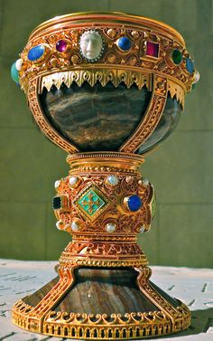Chalice of Doña Urraca, Leon, Spain, known from 11th century