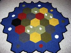 Cthulhu Crochet and Cousins: Settlers of Catan 'ghan! With Free Pattern...... My next crochet project