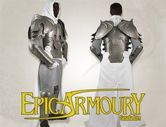 Conquest Templar Armor Can be found at http://www.larpcanada.com