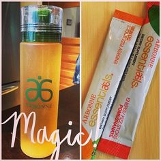Arbonne Fizz Stciks Natural energy with B12, guarana, ginseng, rhodiola and green tea