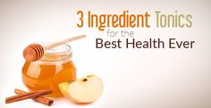 3 Ingredient Daily Drink Tonics for Your Best Health | www.thenutritionwatchdog.com