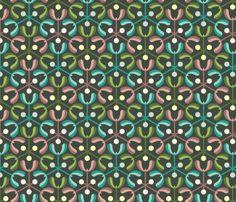 mistletoe 3m3 : oolong fabric by sef on Spoonflower - custom fabric