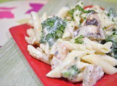 Chicken and Broccoli Alfredo...So rich and delicious