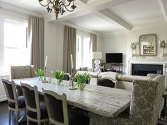 Suzie: Christina Murphy Interiors - NY Social Diary - Amazing dining room with Swedish dining ...