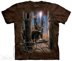 WOODLAND SENTRY BUCK T-SHIRT BY THE MOUNTAIN®
