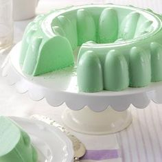 Simple Lime Gelatin Salad Recipe from Taste of Home -- shared by Cyndi Fynaardt, Oskaloosa, Iowa