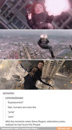 *jump* *pew*