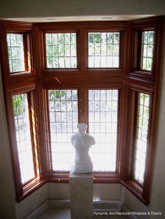 Mahogany Lead Came Windows - traditional - windows - vancouver - Dynamic Architectural Windows & Doors
