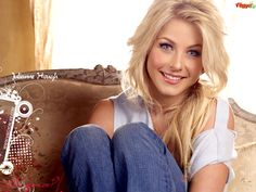 Julianne Hough is so talented i'm jealous! she can dance, act and sing and she has a body to die for! i would trade places with her any day! :)