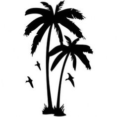 Szablon malarski TX 53, palmy, palma, TX53, drzewo