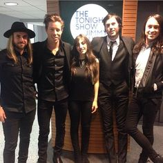 Bad Things after making their TV debut on our show!