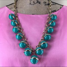 J. Crew Necklace J. Crew Necklace in perfect condition!  Beautiful quality piece-extraordinarily well made! J. Crew Jewelry Necklaces