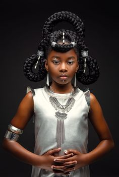AfroArt Series - Care - Skin care , beauty ideas and skin care tips African Hairstyles, Afro Hairstyles, Wedding Hairstyles, Afro Hair Art, African Princess, Avant Garde Hair, Beautiful Black Girl, Beautiful Babies, Foto Fashion