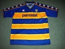 2002 2003 Parma Adults XL Football Shirt Top Maglia Italy Classic Football  Shirts f5b21d246