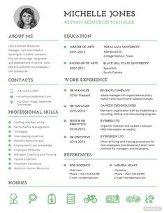 Free Professional HR Resume Template ---CLICK IMAGE FOR MORE--- resume how to write a resume resume tips resume examples for student Cv Templates Free Download, Free Printable Resume Templates, Resume Template Examples, Best Resume Template, Resume Design Template, Cv Examples, Word Templates, Job Resume Examples, Student Resume Template
