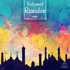 Ramadan Watercolor background