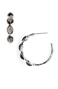 Ippolita 'Rock Candy - Number 2' 4 Stone Hoop Earrings | Nordstrom