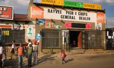 Fish and Chips in Soweto