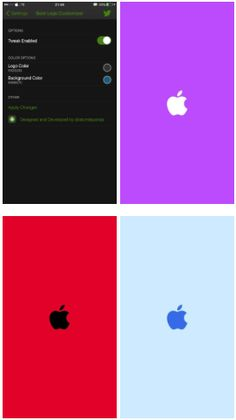  : BootLogoCustomizer اداة لتغيير ألوان شعار آبل