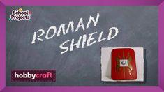How to Make a Roman Shield | Hobbycraft - YouTube Roman Shield, Viking Shield, Hobbies For Girls, Hobbies And Crafts, Diy Home Crafts, Crafts For Kids, Finding A Hobby