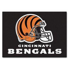 """FANMATS NFL - Cincinnati Bengals Ulti-Mat Rug Size: 2'10"""" x 3'8.5"""""""