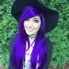 Leda Muir Purple Hair - Arctic Fox Purple Rain - #CrueltyFree #Vegan