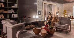 O acervo histórico do Jockey Club de São Paulo foi a fonte de inspiração para os arquitetos Rodrigo Costa e Alessandra Marques, do Studio Costa Marques criarem o Lounge de Entrada da 28ª da Casa Cor SP. Confira: http://bbel.me/1l2feA0.