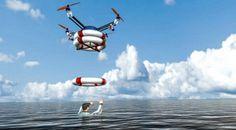 Future technology Concept the marine robotic